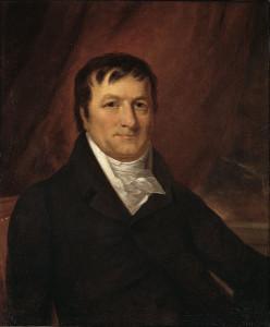 Johann Jakob Astor, porträtiert von John Wesley Jarvis im Jahr 1825