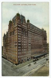 Das Hotel Waldorf-Astoria