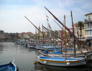 Der Hafen von Sanary-sur-Mer, September 2012